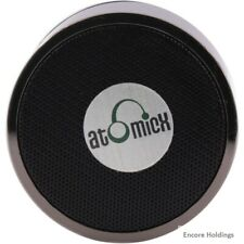 AtomicX Portable Bluetooth Speaker System - Black - Battery Rechargeable Sp-S10B