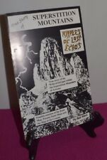 Ripples of Lost Echo's True Story Superstition Mountains Bob Ward Arizona Book