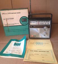 Ross Electronics Corp Am/Fm Re-1200-N - Circa 1970