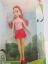 Disney Store Rosetta Fairy Doll 6 inch Boxed Tinker Bell Fairies Collection