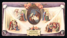 santino-holy card*ediz.NB  n.982 MYSTERIA GAUDIOSA