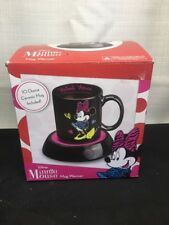 (CM) Disney Minnie Mouse Mug Coffee Warmer Cup Heater Hot Office Home Gift