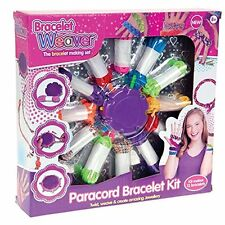 Paracord Bracciale Set WEAVER Kit Craft Gioielli Regalo Divertente Twist Creative Maker