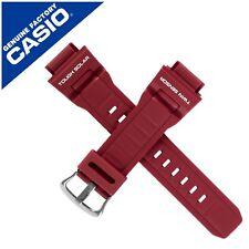 Vera Nuovo di Zecca Cinturino Orologio CASIO BAND per G-9300RD-4 G9300RD 4 G 9300RD Rosso