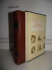 LIBRO Montanelli Gervaso L'ITALIA DEL SETTECENTO (1700-1789) 5^ed.1970 ☺
