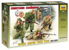 Zvezda 3597 Soviet snipers 1941-1943 Assembly kit model 1:35