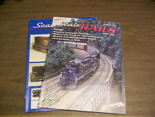 13692 Scale Rails Magazine 2 issues September 08, January 09