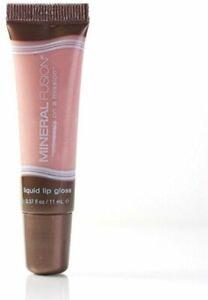 Liquid Lip Gloss by Mineral Fusion, 0.37 oz Enlightened