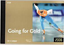 Nederland PR10 Prestigeboekje Going for Gold 2006 PF