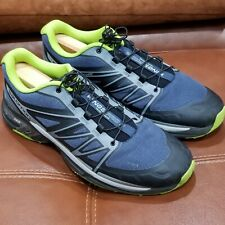 SALOMON WINGS PRO 2 TRAIL RUNNING ATHLETIC SHOES MEN SIZE 9.5 100% Authentic