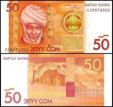 Kyrgyzstan 50 Som, 2009, P-25, UNC