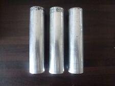 3 x Alu Aluminium Rundmaterial Rundstange Welle ca. Ø 37 mm Länge ca. 140 mm