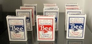 Bee Playing cards - Used 1 time - pack of 12 - used once - Deck of Cards