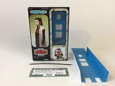 "custom vintage Star wars esb 12"" princess leia bespin screen version box inserts"