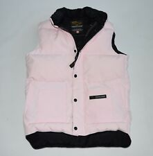 CANADA goose vest XS women's pink feather down ladies sleeveless short jacket