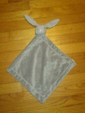 New listing Pottery Barn Kids Gray Pink Bunny Rabbit Security Blanket/Lovey