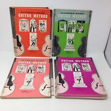 Vintage 1950s Alfred'S Basic Guitar Method: Lot of 17 booklets, Levels 2 3 5 & 6