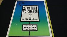 Straight No Chaser Live at the Ryman Auditorium Hatch Print!  Nashville, TN!
