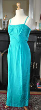Vintage1960sTurquoise Bridesmaids/Ballgown/Prom Dress -Brilkie of Mayfair London