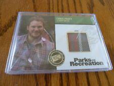 Press Pass Parks and Recreation Chris Pratt Costume Card R-CP