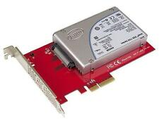 "StarTech U.2 to PCIe Adapter for 2.5"" U.2 NVMe SSD - x4 PCI Express 3.0 Model PE"