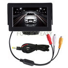 "4.3"" TFT LCD Car Rear View Reverse Color Camera Monitor Reversing DVD VCR CCTV"