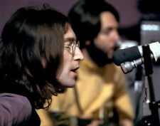 "The Beatles John Lennon Paul McCartney Photo Print 14 x 11"""