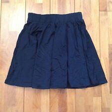 Women's Supre Black Size XS Mini Circle Skater Skirt