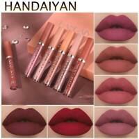 6Pcs Matte Lipstick Set Waterproof Long Lasting Lipstick Xmas Cosmetic Make Up