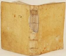 SALLUSTIO TIBERIO DA CORNETO FORMULARIUM FORMULARIO LEGALE DIRITTO CIVILE 1621