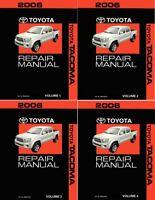 2003 Toyota Tacoma Factory Service Manual Set Original Shop Repair Ebay