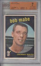 1959 Topps #356 Bob Mabe REDS BVG 7 NM Z10657 - BVG NrMt (7)