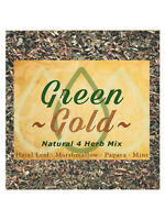 Green Gold Natural Herb Mix Coffee Shop Blend Herbal Alternative Replacement 25g