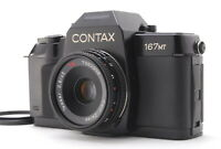 【N MINT+++】CONTAX 167MT SLR Film Camera Carl Zeiss Tessar 45mm f/2.8 From JAPAN