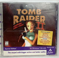 Tomb Raider 2 Special Edition PC CD-ROM Game Widows 95 or 98, 3 Levels + more