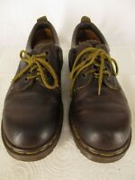 Dr Doc Martens Mens Brown Oxford Shoes 6 UK/ 7 US England Made