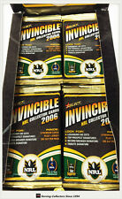 2006 Select NRL Invincibles Trading Cards Series 18-Sealed Pack Unit