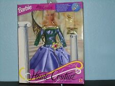 BARBIE Fashion Haute Couture w/Necklace Charm Foreign Version 1994 #12166 NRFB