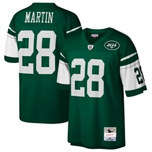New York Jets Curtis Martin #28 Mitchell & Ness 2004 NFL Retired Legacy Jersey