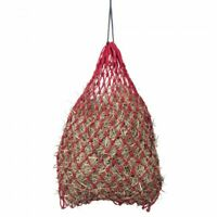 Tough-1 Red Slow Feed Miniature Hay Feeder Horse Tack