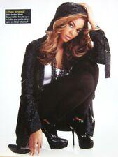 Beyonce sexy color photo Destiny's Child 2000s fashion R&B hoodie & stilettos