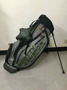 NEW SCOTTY CAMERON PATHFINDER GREY/GREEN STAND BAG - 2020 MASTERS - CIRCLE T