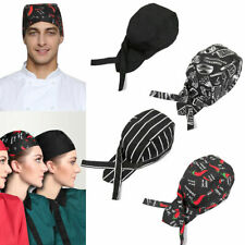 Fashion Men Women Chef Hat Catering Baker Kitchen Cook Chef Elastic Cap Hat