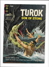"TUROK, SON OF STONE #47 [1965 GD-VG] ""OUTCASTS OF THE FLOOD"""