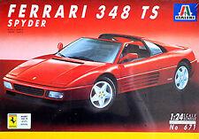Ferrari 348 TS Targa Version 1989-93 - 1:24 Kit de montage Kit Italeri