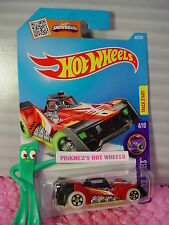 Case E 2016 i Hot Wheels VOLTAGE SPIKE #49☆Red/Yellow/Black☆HW GLOW WHEELS