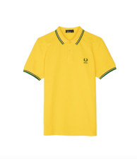Fred Perry Country Shirt 2018/Brazil - XL Free U.K Shipping