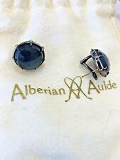 """Grey Moonstone Septet Stud Earrings New listing Alberian & Aulde """"Morning Star"""""""