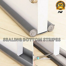 93cm Flexible Door Bottom Seal Strip Guard Sealer Stopper Draught Excluder UK