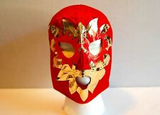 SOLAR Red LUCHADOR KIDS Mask lucha libre wwe libre Halloween NEW Costume 2